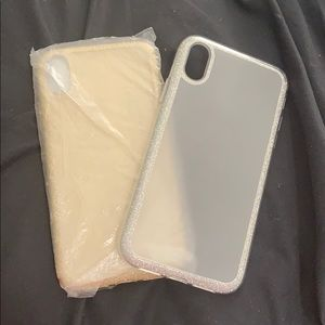 Accessories - Glitter IPHONE XR cases. Never used.